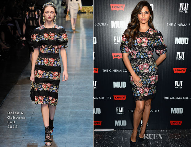 Camila Alves In Dolce & Gabbana - Mud New York Premiere
