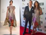 Camila Alves In Lela Rose - Mack, Jack & McConaughey Present John Mellencamp In Concert