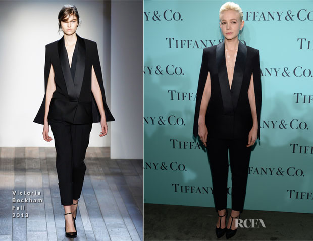 Carey Mulligan In Victoria Beckham - Tiffany & Co Blue Book Ball