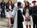 Catherine, Duchess of Cambridge In Topshop - Inauguration Of Warner Bros. Studios