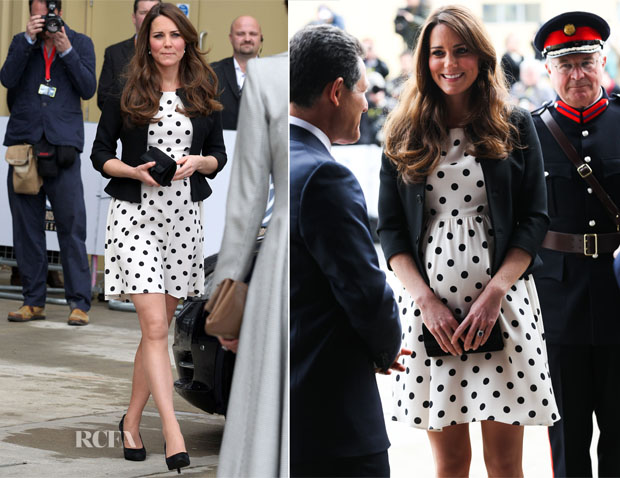 Catherine, Duchess of Cambridge In Topshop - Inauguration Of Warner Bros Studios