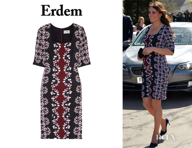 Catherine, Duchess of Cambridge's Erdem 'Sophia' Dress1