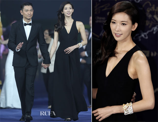 Chi-ling Lin In Valentino - 3rd Beijing International Film Festival