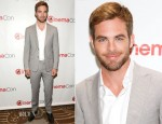 Chris Pine In Z Zegna - 'Star Trek Into Darkness' CinemaCon Presentation