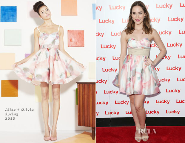 Christa B. Allen In Alice + Olivia - Second Annual FABB West Opening Night Cocktail Party