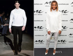 Ciara In Givenchy - Music Choice's 'U&A' Visit