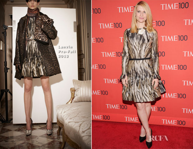 Claire Danes In Lanvin - Time 100 Gala