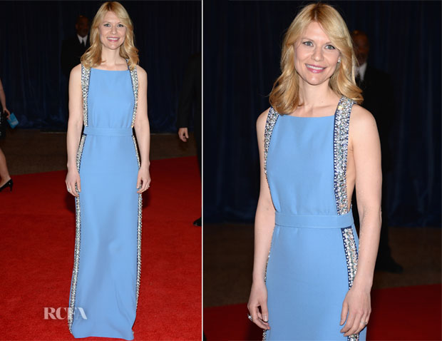 Claire Danes In Prada - 2013 White House Correspondents' Association