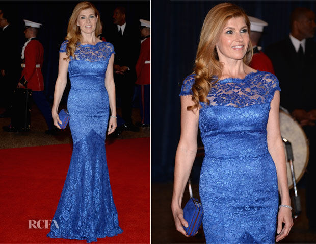 Connie Britton In Temperley London - 2013 White House Correspondents' Association