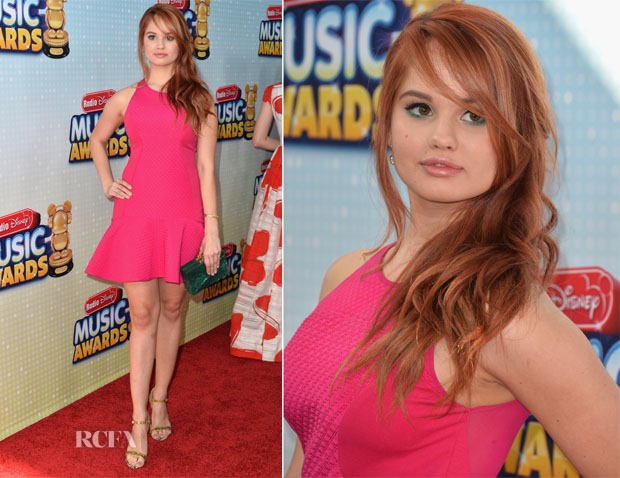 Debby Ryan In DKNY - 2013 Radio Disney Music Awards