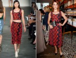 Dianna Agron In Derek Lam - Vogue 'Triple Threats' Dinner