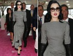 Dita von Teese In John Galliano - International Beauty Show