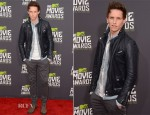 Eddie Redmayne In AllSaints - 2013 MTV Movie Awards