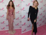 Elizabeth Hurley In Blumarine and Kate Hudson In Ann Taylor - 2013 Hot Pink Party