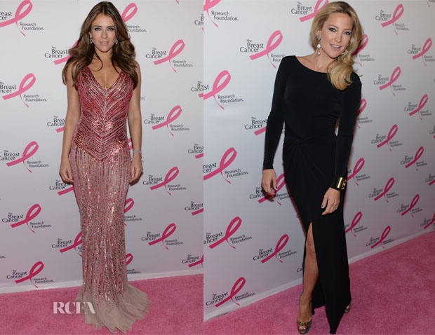 Elizabeth Hurley and Kate Hudson - 2013 Hot Pink Party