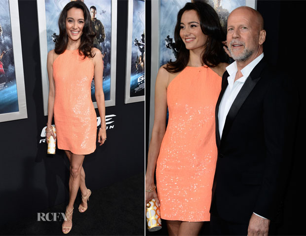 Emma Heming-Willis In Kaufmanfranco - 'GI JOe Retaliation'