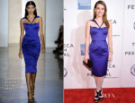 Emma Roberts In Cushnie Et Ochs - 'Adult World' Tribeca Film Festival Screening