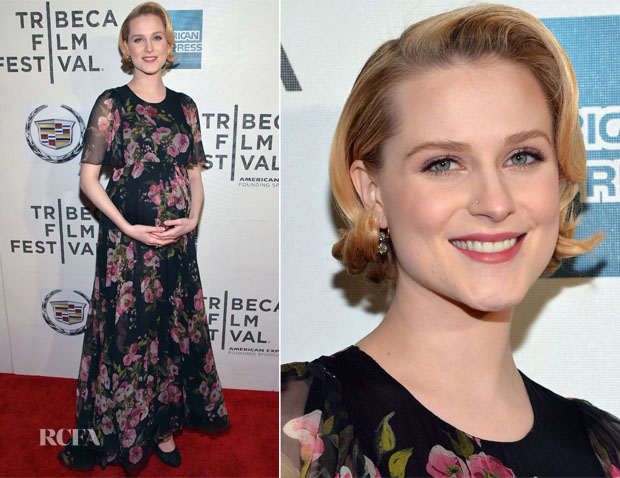 Evan Rachel Wood In Dolce & Gabbana - 'A Case Of You' Tribeca Film Festival Premiere