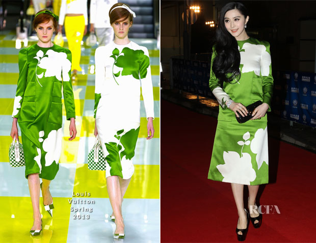 Fan Bingbing In Louis Vuitton - 2013 Huading Awards Ceremony