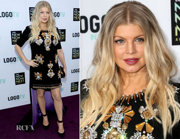 Fergie In Fausto Puglisi - 2013 NewNowNext Awards