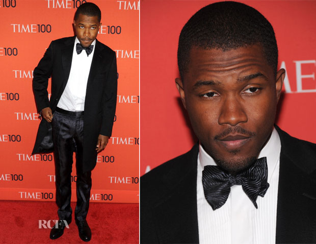 Frank Ocean In Lanvin - 2013 Time 100 Gala