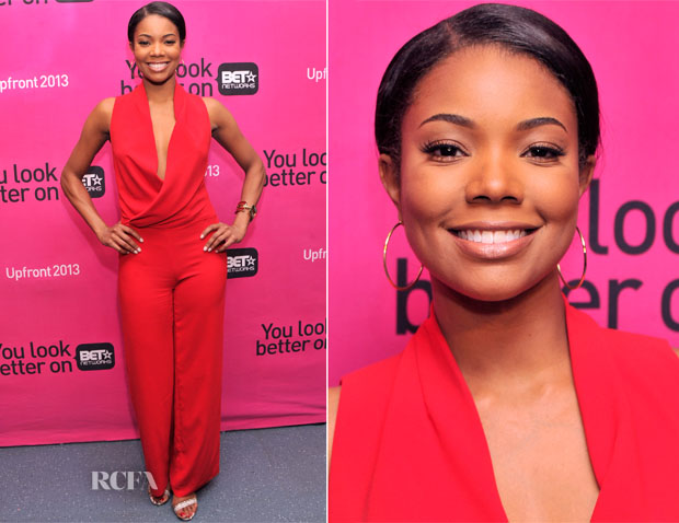 Gabrielle Union In Bec & Bridge -  BET Networks 2013 New York Upfront