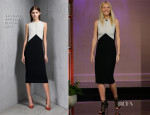 Gwyneth Paltrow In Narciso Rodriguez - Tonight Show with Jay Leno