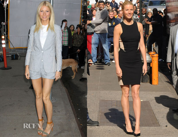 Gwyneth Paltrow In Rag & Bone - Good Morning America