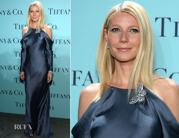 Gwyneth Paltrow In Ralph Lauren - Tiffany & Co Blue Book Ball