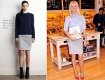Gwyneth Paltrow In Stella McCartney & Band of Outsiders - Williams-Sonoma Book Signing