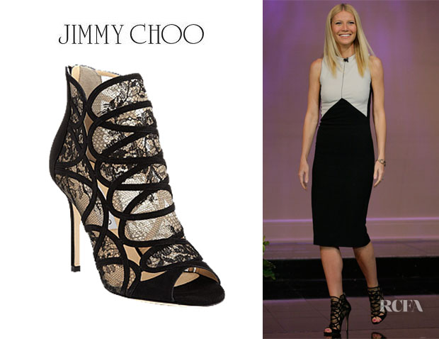 Gwyneth Paltrow's Jimmy Choo 'Fauna' Booties