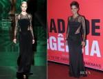Halle Berry In Monique Lhuillier - 'The Call' Rio de Janeiro Premiere