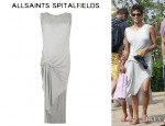 Halle Berry's AllSaints 'Riviera' Jersey Dress
