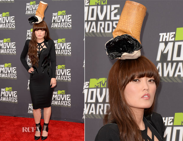 Hana Mae Lee In Marco Marco - 2013 MTV Movie Awards