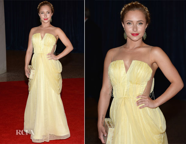 Hayden Panettiere In Katherine Kidd - 2013 White House Correspondents' Association