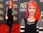 Hayley Williams In Topshop & Zara - 2013 MTV Movie Awards