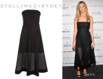 Heather Graham's Stella McCartney Strapless Dress