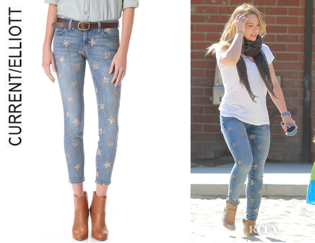 Hilary Duff's CurrentElliott 'The Stiletto' Jeans