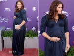 Hillary Scott In A Pea in the Pod - 2013 ACM Awards