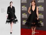 Holland Roden In Donna Karan - 2013 MTV Movie Awards