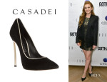 Isla Fisher's Casadei Pumps
