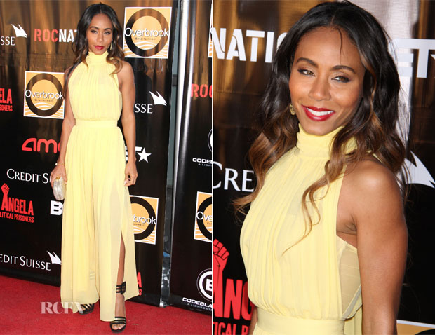 Jada Pinkett Smith In Miu Miu - 'Free Angela and All Political Prisoners' New York Premiere
