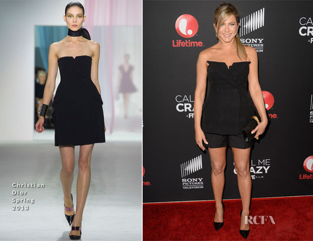 Jennifer Aniston In Christian Dior - 'Call Me Crazy A Five Film' Premiere