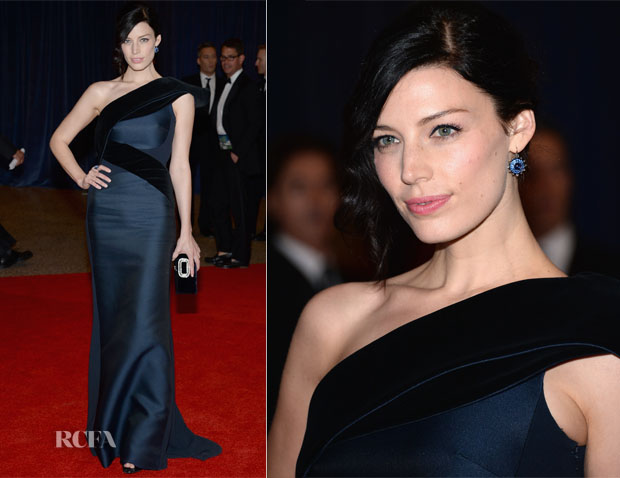 Jessica Pare In Antonio Berardi - 2013 White House Correspondents' Association