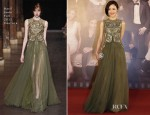 Jiang Yi Yan In Basil Soda Couture - 2013 Hong Kong Film Awards