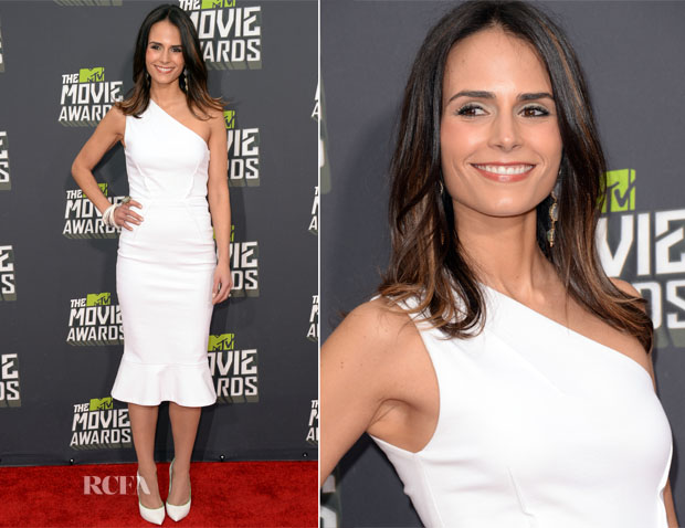 Jordana Brewster In Camilla and Marc - 2013 MTV Movie Awards