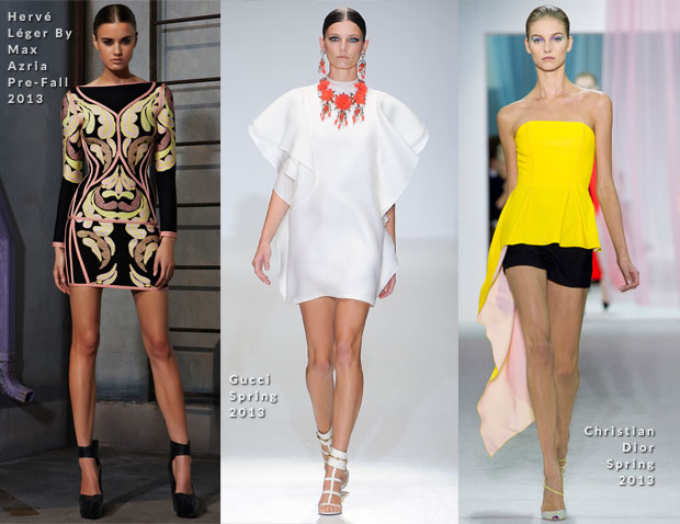 Juana Acosta In Herve Leger, Gucci & Christian Dior