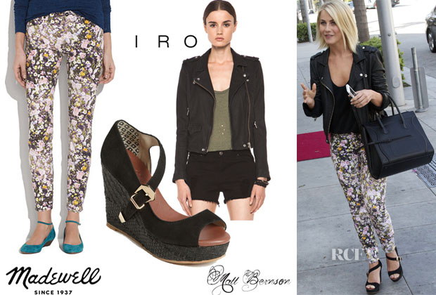 Julianne Hough In Madewell & IRO