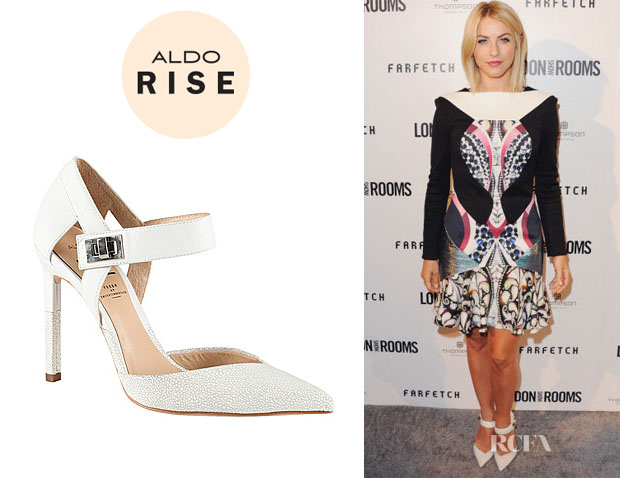 Julianne Hough's Aldo Rise x Preen 'Musilova' Pumps