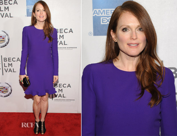Julianne Moore In Alexander McQueen - 'The English Teacher' Tribeca Film Festival Premiere